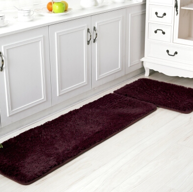 1Set=2pcs Nonslip Kitchen Floor Carpet for Living Room Home Decoration Rugs(China (Mainland))