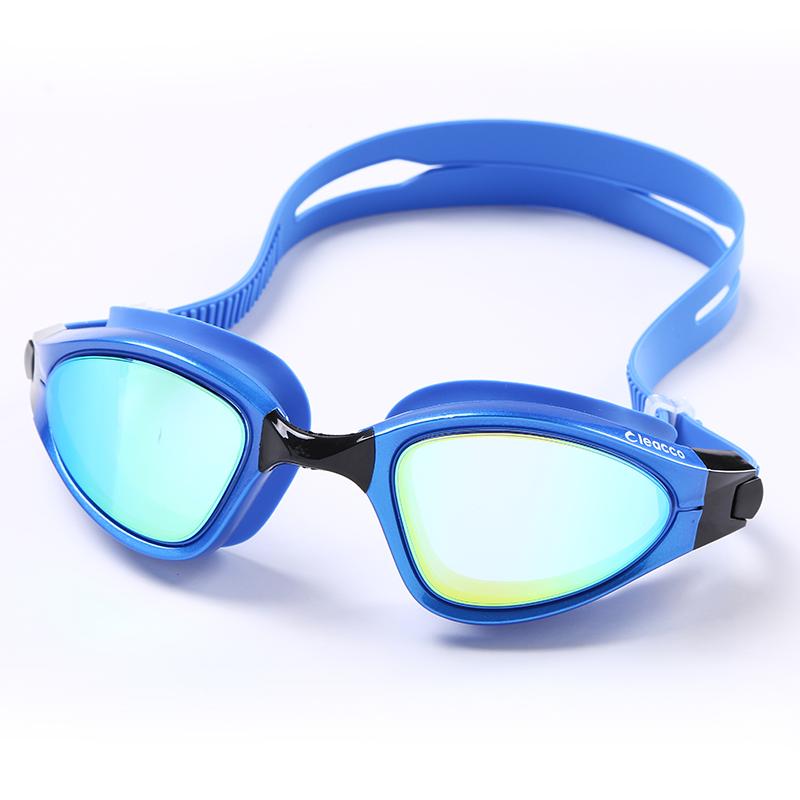 Big box Professional Electroplate Anti-fog UV Protection Swim Eyewear HD silicone Waterproof Swimming Goggles Glasses Eyeglasses(China (Mainland))