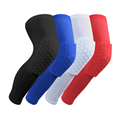 1PCS Knee brace Mcdavid Honeycomb kneepad Famousbrand knee pad elbow support Basketball Leg Sleeve Breathable Sport