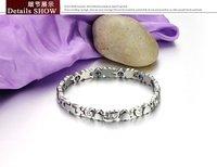 OPK ювелирные изделия женщина сердце браслет новой моды из нержавеющей стали Магнитные браслеты кубического циркония женщин здорового ювелирные gs3022