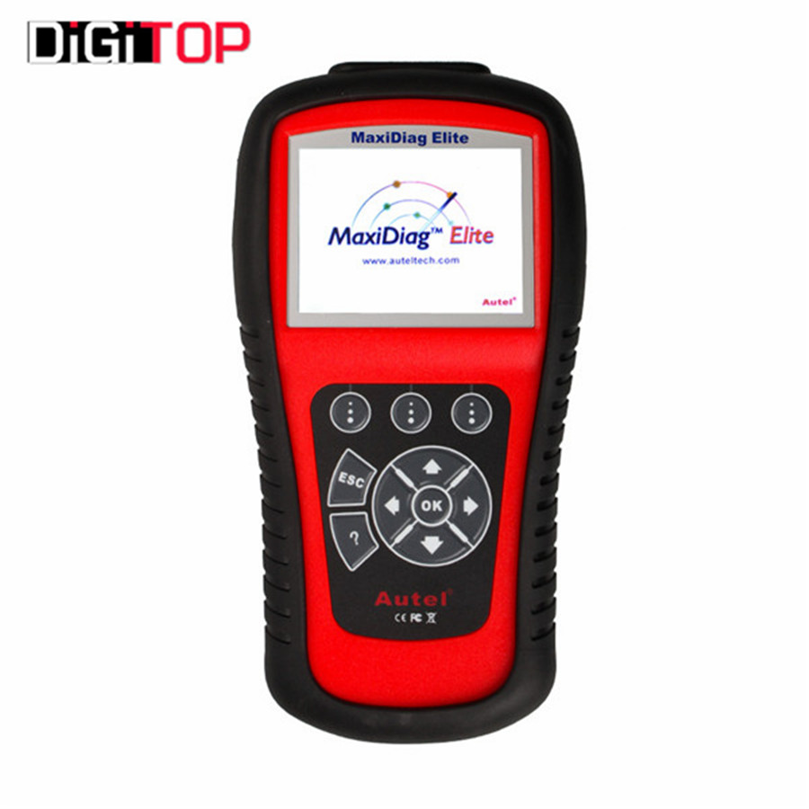 Top Level Manufacturer Autel Maxidiag Elite MD703 With DS Model for 4 System Update Online Support US Vehicles(China (Mainland))