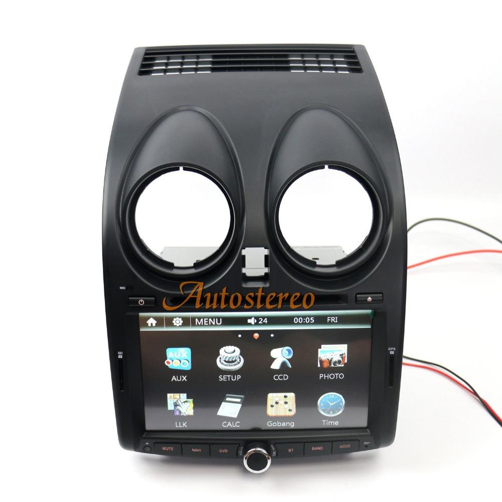 Car Stereo Radio for Nissan Qashqai GPS Navigation Auto Radio DVD Multimedia(China (Mainland))