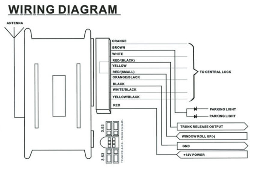 Keyless Entry System Wiring Diagram Likewise Door on free vw wiring diagrams