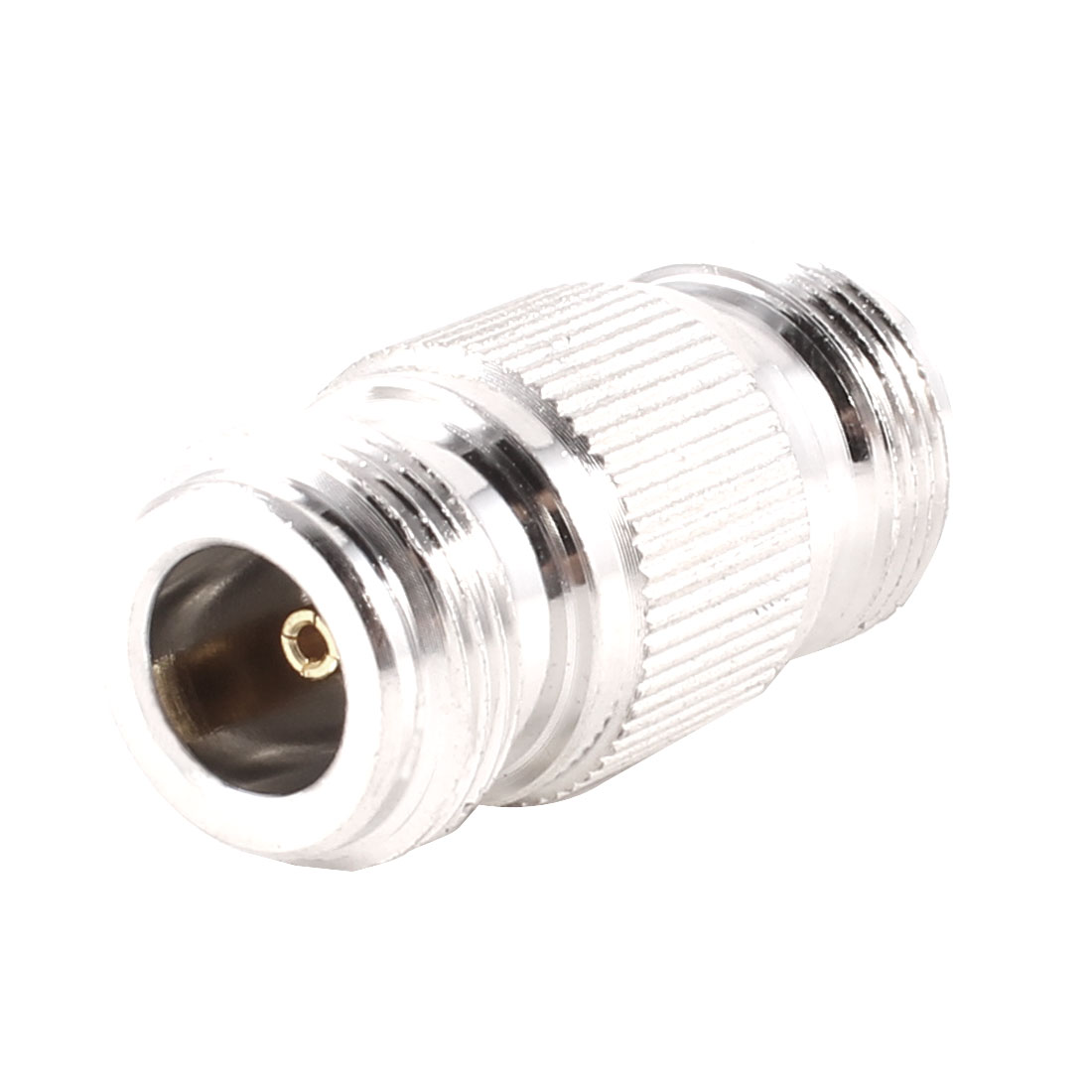UXCELL Pack Size(L*W*H) Silver Tone N Female Jack To N Female Plug Rf Coaxial Connectors 1.7   10   14   x(China (Mainland))