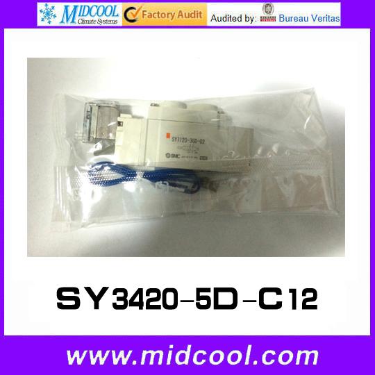 Фотография 5 way pilot solenoid valve SY3420-5D-C12