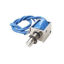 Buy UXCELL Material 12V Push Type Open Frame Solenoid Electromagnet Actuator 10Mm 4N Holding electronic metal, parts for $2.68 in AliExpress store