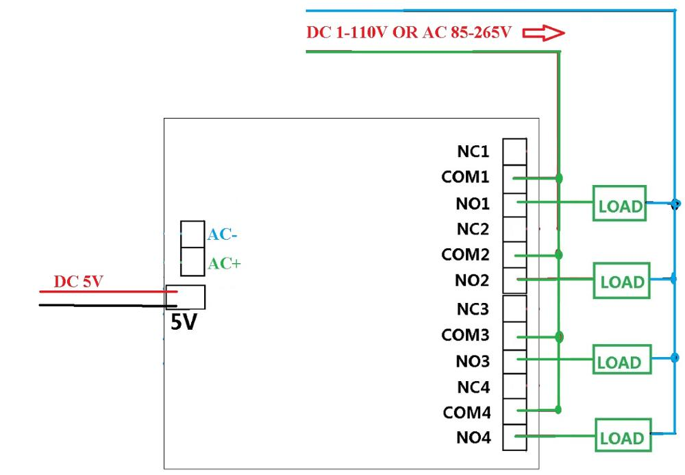 Rib Relay Wiring Diagram 120v