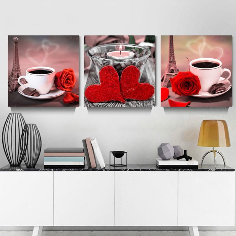 cuisine toile peintures achetez des lots petit prix. Black Bedroom Furniture Sets. Home Design Ideas