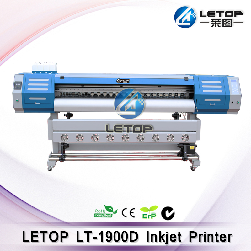 Best Price Wide Format Really double dx5 Head letop Digital Advertisting Eco Solvent Inkjet Plotter/Printer/Printing Machine(China (Mainland))