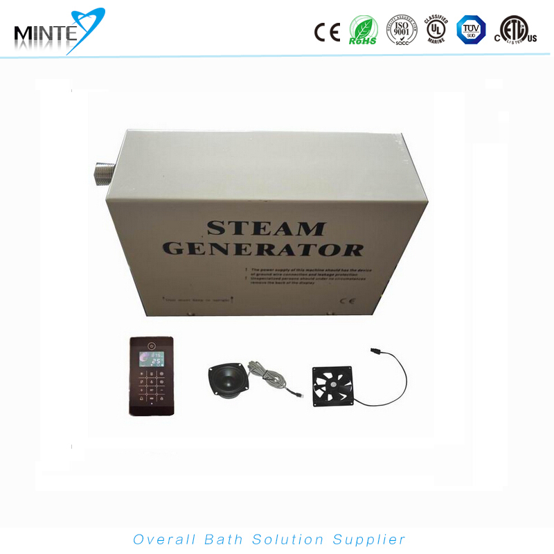 TR029 LCD display touch screen control panel shower room steam bath machine, steam shower sauna generator(China (Mainland))