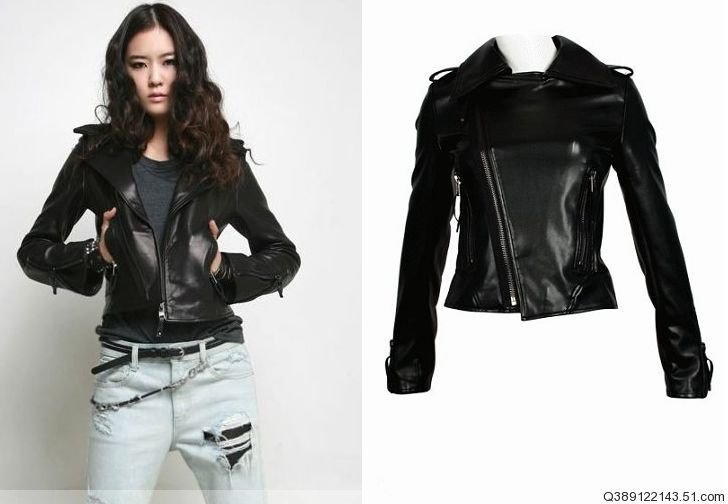 Buy Leather Jacket Womens - Coat Nj