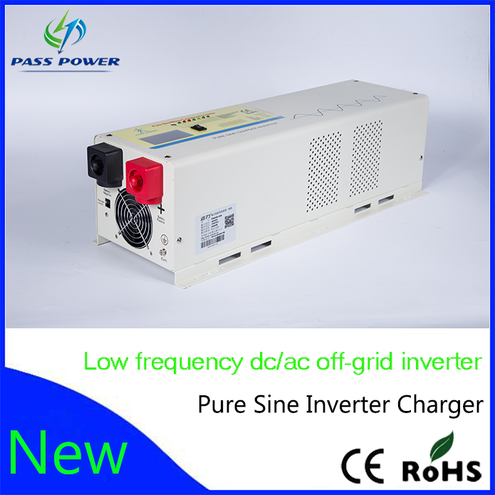 4000 watt 24/48Vdc 100/110/120Vac low frequency power solar inverter charger(China (Mainland))