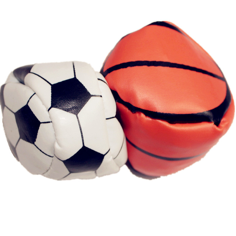 Multi color small toys wholesale leather football ball personality toy wholesaler(China (Mainland))