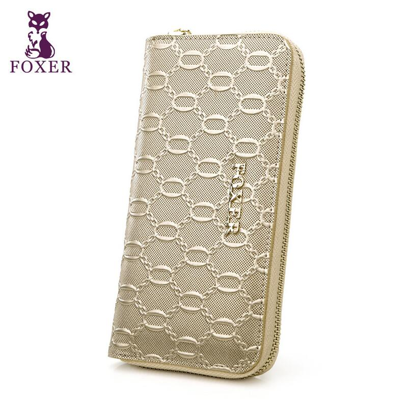 2016 New Women genuine leather wallet brands fashion women purse  fashion  Fashion Embossing long Wallets от Aliexpress INT