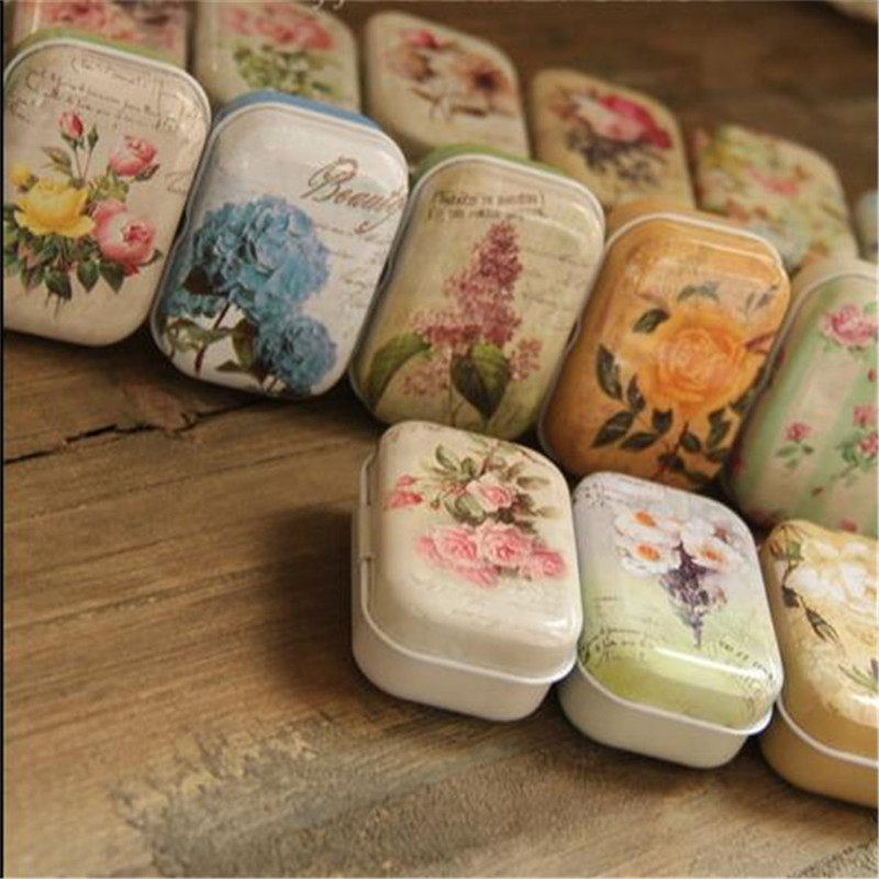 Cajas plastico New Arrival Cute Macaroon Cookie Shape Candy Color Mini Storage Box Jewelry Box Tin box(China (Mainland))