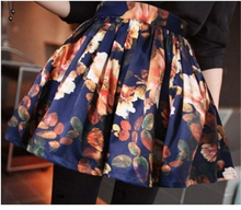 Women's Vintage High Waist Pattern Skirt 11475517