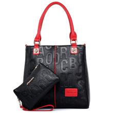 Fashion Composite Bag Package Temperament Two-Piece Handbag Famous Brand Luxury Colorful Womans Handbag Leather Ladies Bags