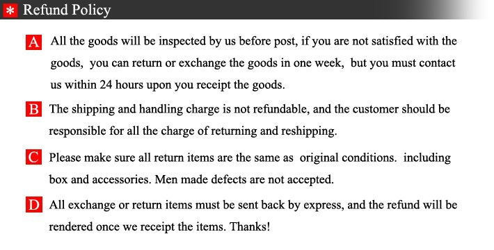 3Refund Policy