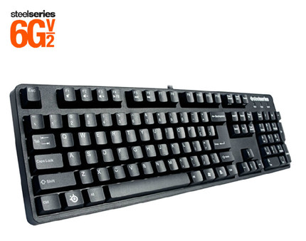DHL 100%Original Steelseries 6G v2 mechanical keyboard with the retail box Free shipping(China (Mainland))