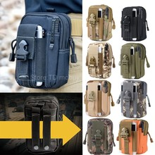 Outdoor Army Tactical Waist Belt Phone Molle Bag Case for iPhone se/6/6s/plus/LG g5/g4/g3/Xiaomi mi5/Meizu mx5/m3 note/Oneplus 3(China (Mainland))