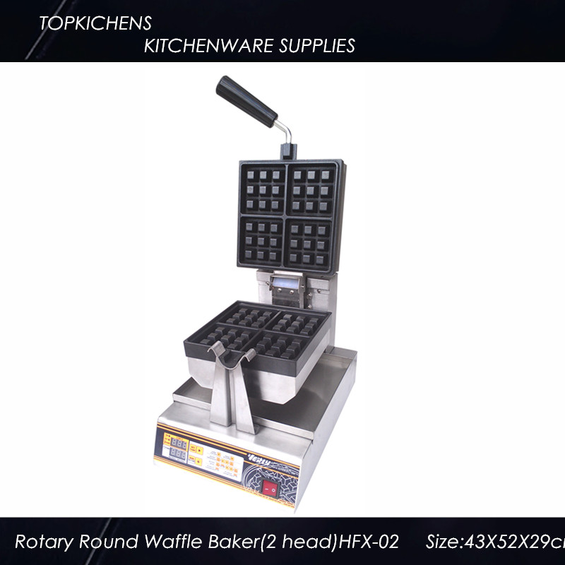 Rotary Square Waffle Baker<br><br>Aliexpress
