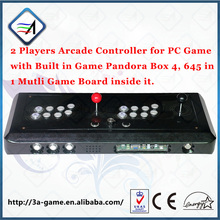 Pandora Box 4 hd 645 in 1 Multi Game Board Fight Stick to TV DIY Accessories Arcade Joysticks PC USB 2 Players Arcade Controller(China (Mainland))
