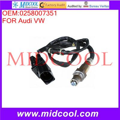 High Quality Air Fuel Sensor Lambda Sensor Oxygen sensors OEM:0258007351(China (Mainland))