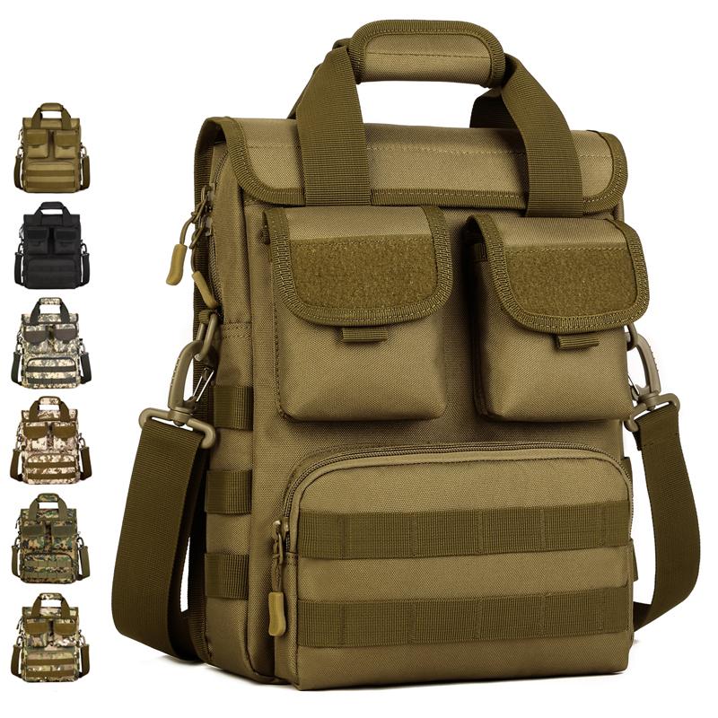 Men Multifunction Military Crossbody Bag Man Nylon Travel Shoulder Bags Waterproof Male Handbags Men's Camouflage Messenger Bag(China (Mainland))
