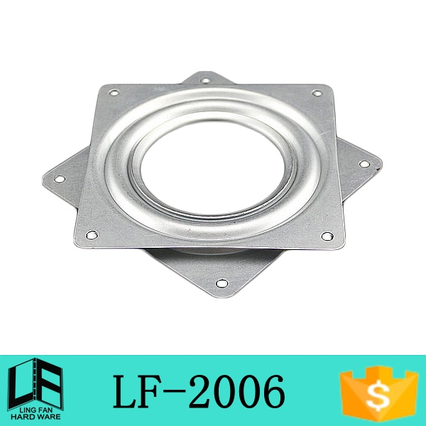 "swivel chair base for recliner plate, tv lazy susan, square table spinning center 6"" LF-2006(China (Mainland))"