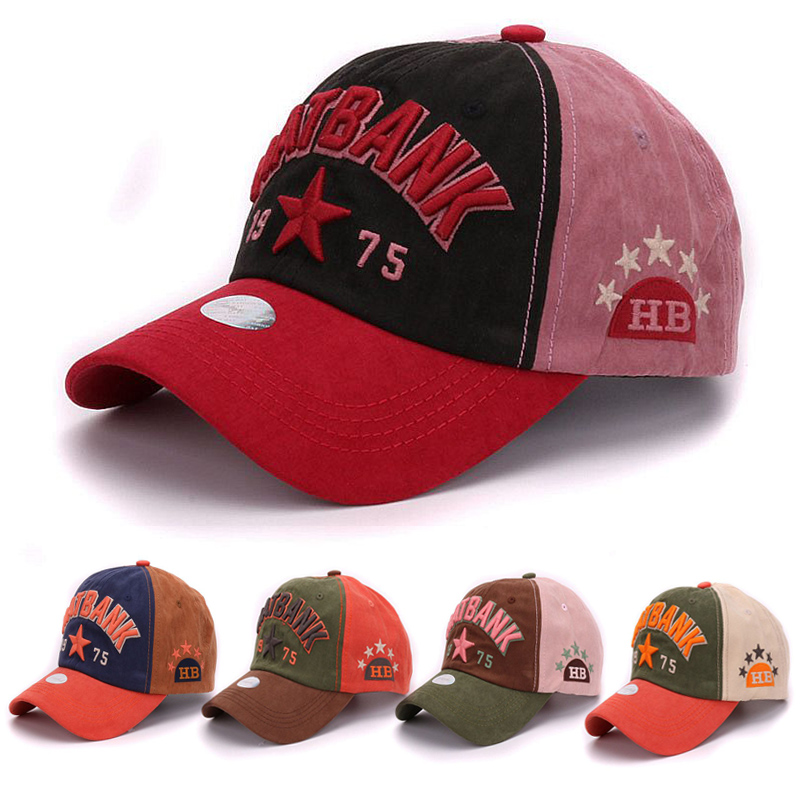 Vintage cotton baseball cap raised embroidery hat bank adjustable sports caps youth strap back baseball hat and cap for men(China (Mainland))