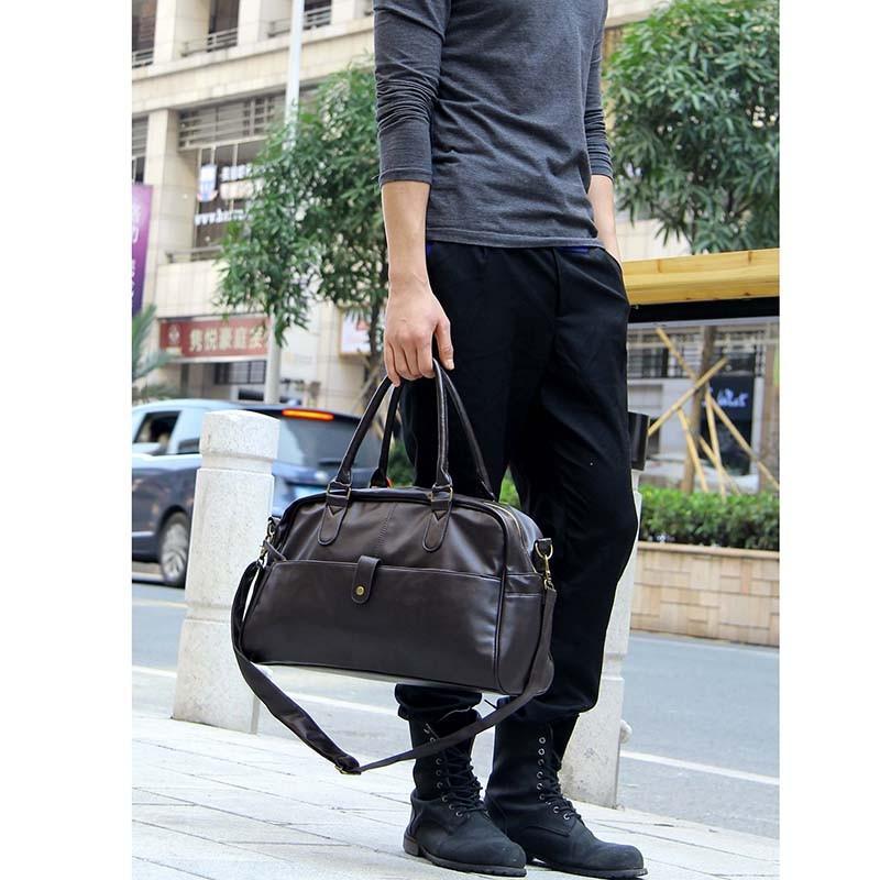 Дорожная стильная мужская сумка