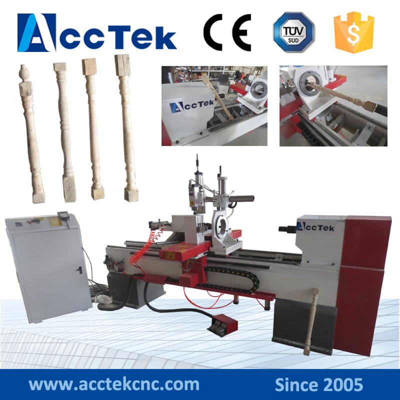 2000mm length cnc wood turning lathe machine price(China (Mainland))