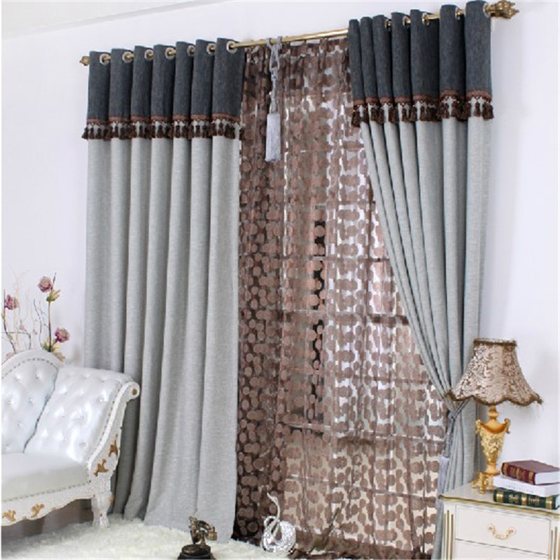 Curtain design beautiful curtain design ideas decorating rodanluo with curtain design - Epic window treatment decoration with slate blue curtain ...