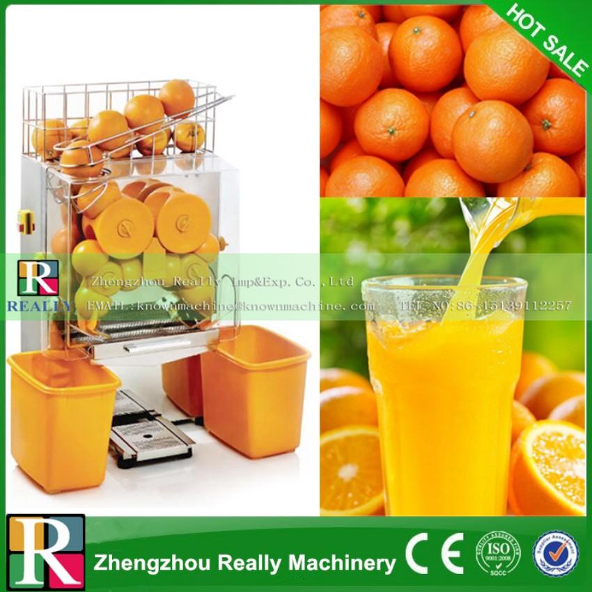 Easy operation automatic orange squeezer, industrial orange squeezing machine,orange juice extractor(China (Mainland))
