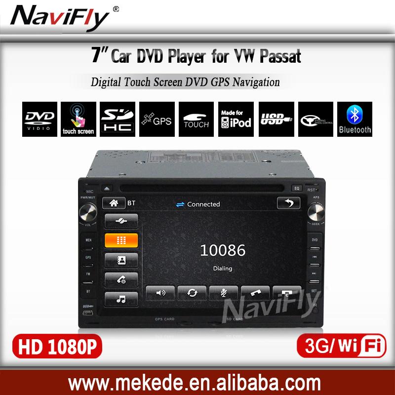 2Din Autoradio Car DVD Navigation for VW Volkswagen passat B5 Jetta Golf MK4 Bora Polo Sharan with GPS Bluetooth Radio IPOD(China (Mainland))