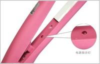100% качество розовый мини портативных электронных утюжок выпрямитель плоского железа