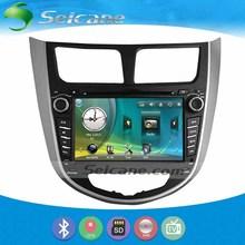 Seicane 7 Inch Car DVD Player GPS Navigation System For 2010-2013 Hyundai Verna Solaris With Radio TV tuner Remote Control(China (Mainland))