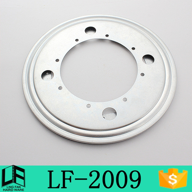 360-degree free rotating metal turntable,9 inch ball joint swivel base LF-2009(China (Mainland))