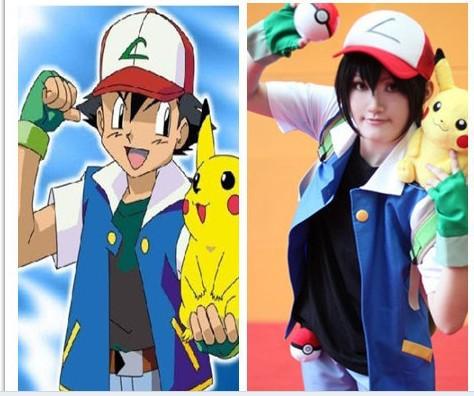 Pokemon Ash Ketchum Costume Pokemon Ash Ketchum Trainer