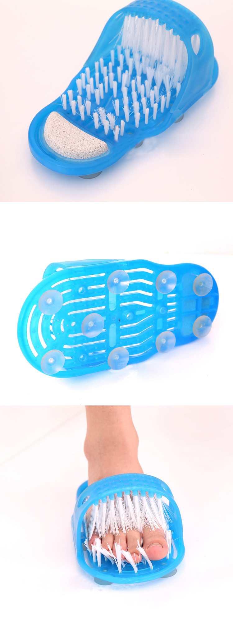 Anti-slip Duche Pés Scrubber Massager Escova Limpa Banho Exfoliates Shoes 6259 7 EWyKg