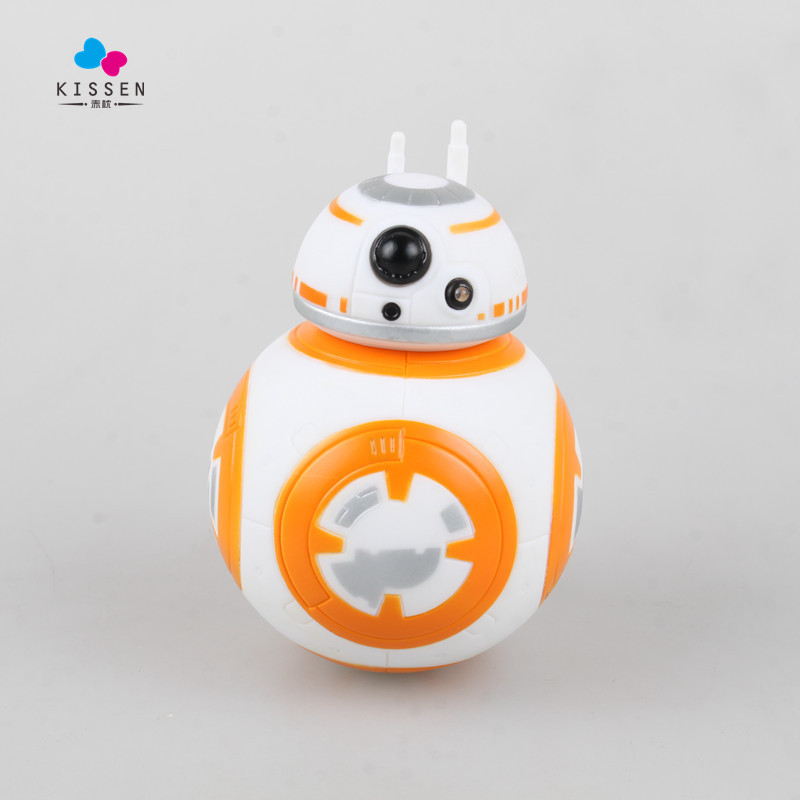 Kissen Hot 12cm Star Wars The Force Awakens BB8 BB-8 Droid Robot Tumbler Touch Luminous Voice Action Figure Toys Christmas Gift от Aliexpress INT