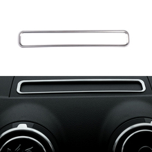 Car Styling Navigation Decorative Frame Strip Cover Sequins Special Modified AUDI A3 8V 2013 2014 2015 2016 Car-styling - Super-Cars store
