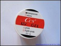 профессиональный ccn УФ ногтей гель, розовый белый прозрачный гель УФ, 1/2 унции/шт высокое качество