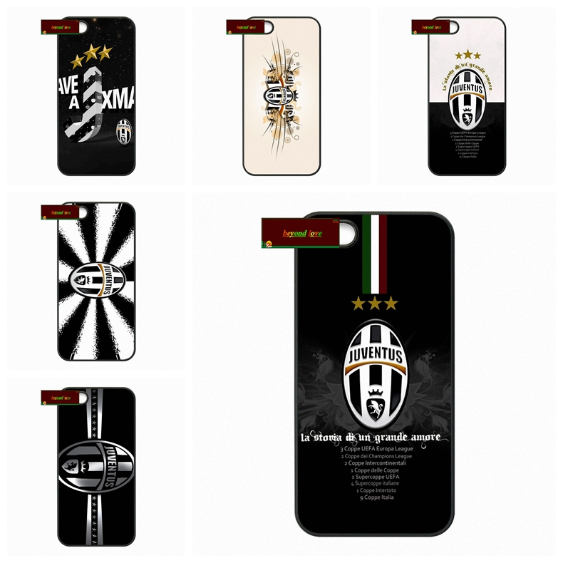 Juve juventus FC Football Champions case for iphone 4 4s 5 5s 5c 6 6s plus samsung galaxy S3 S4 mini S5 S6 Note 2 3 4 S0247(China (Mainland))