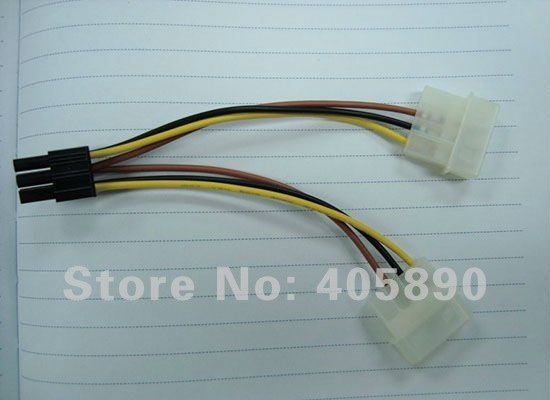 6 Pin Power Supply Pin Gpu Power Supply Cable