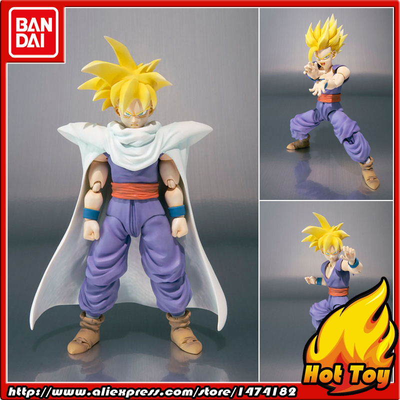 "100% Original BANDAI Tamashii Nations S.H.Figuarts (SHF) Action Figure - Super Saiyan Son Gohan from ""Dragon Ball Z""(China (Mainland))"