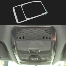 Audi A4 B8 2008 2009 2010 2012 2013 2014 2015 Interior Car Dome Reading Lights Decoration Frame ABS Cover Trim Auto - Car's Life store
