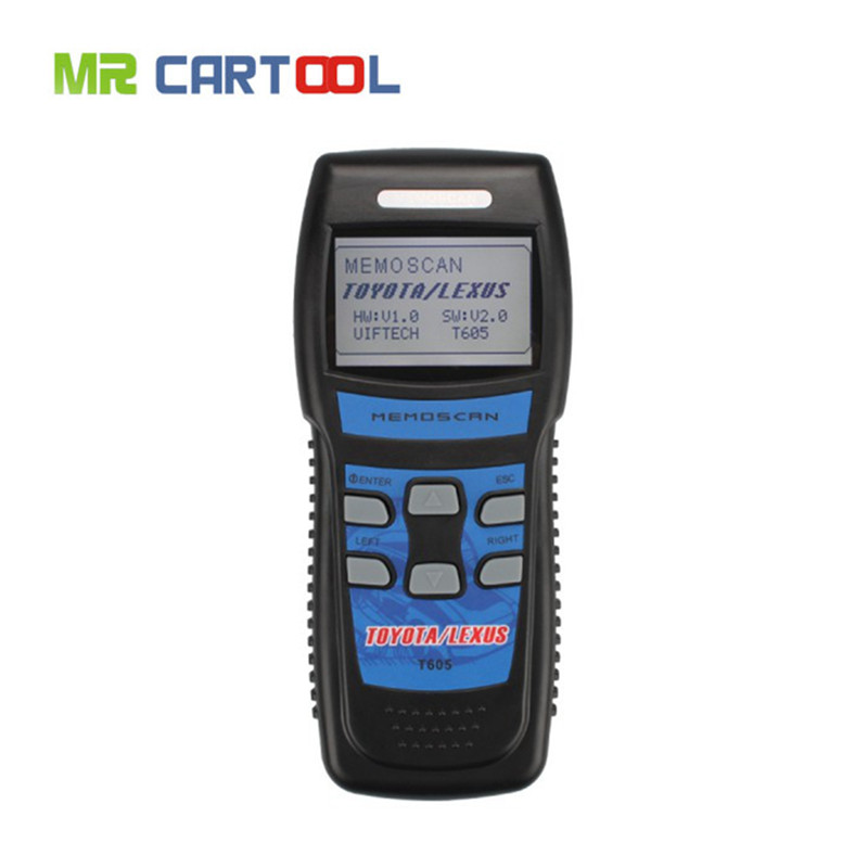 Top Selling High quality New Memoscan T605 TOYOTA/LEXUS Professional Tool T605 OBD2 Code Scanner(Hong Kong)