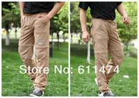 открытый летний стойкое, туризм, рыбалка кемпинг быстрой скоростью сухой брюки мужчины съемных манжеты