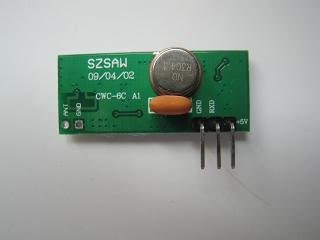 CWC-6C ASK Receiver module with 315MHz, 433MHz super heterodyne receiver module free shipping